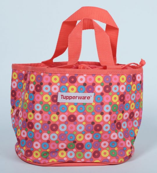 Tupperware Girls Day Out Lunch Bag - Orange Color