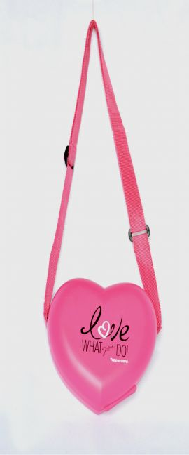 Tupperware Love Keeper with Sling - Kids Lunch Box - Pink