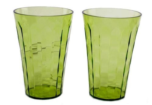 Tupperware Prism Acrylic Stacking Tumblers - Set of 2